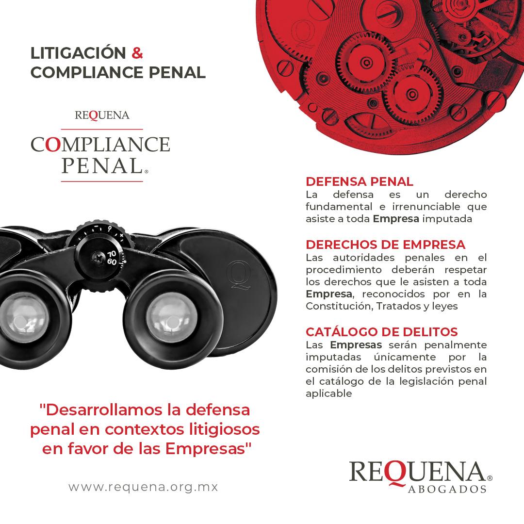 Litigación & Compliance Penal | Compliance Penal | Requena Abogados