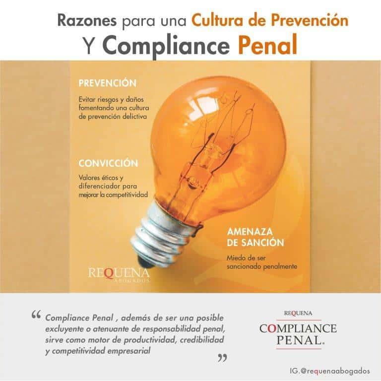 Cultura de Prevención | Compliance Penal | Requena Abogados